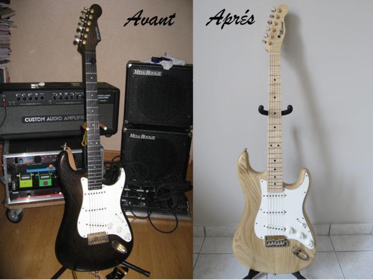 Micoud Guitares - Lutherie à Valence dans la Drome - customisation d'Instruments